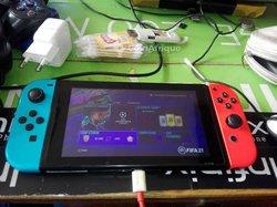 Nintendo Switch hackée