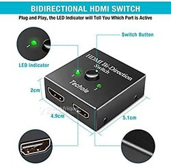 Bidirectional HDMI Switch