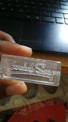 Confection de tampon pour savon