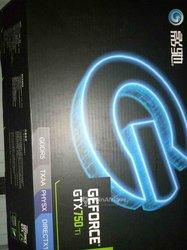 Carte graphique Geforce gtx 750ti 2go Ddr5