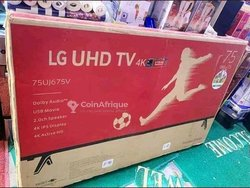 TV LG Smart Android  75 pouces