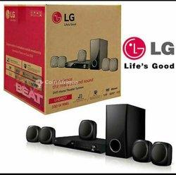 Home cinéma LG 300w - 5 ronds tuteurs
