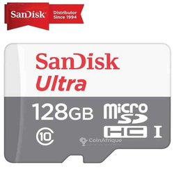Carte mémoire Sandisk ultra - 128 Go