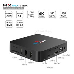 TV Box android full HD