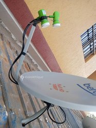 Installation d'antennes paraboliques