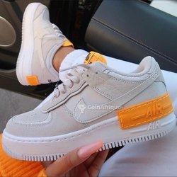 Baskets Nike Air Force One Shadow femme
