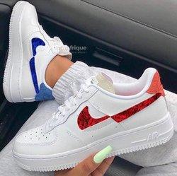 Baskets Nike Air Force One femme