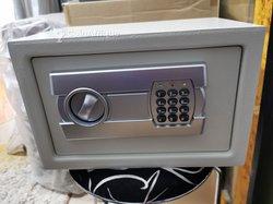 Coffre-fort numérique avec code et clé