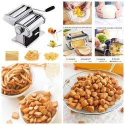 Machine à pâtes à spaghetti et croquettes