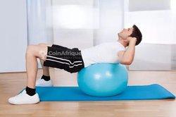 Tapis - Ballon de Gym