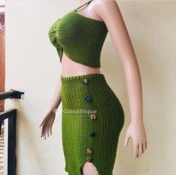 Accessoires de mode crochetés