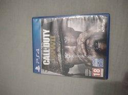 Jeux vidéos PlayStation 4 Call Of Duty WW2