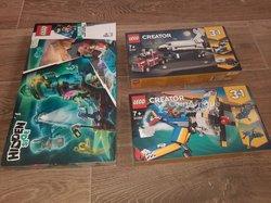Lego 3 boîtes