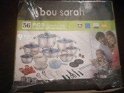 Vaisselle Abou Sarah 56 pièces