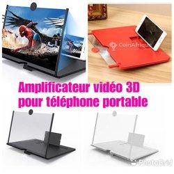 Amplificateur vidéo 3D pour téléphone portable
