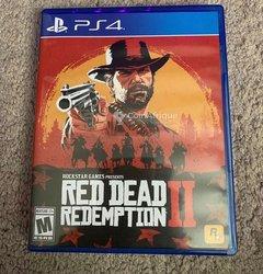 CD jeu Red dead redemption 2