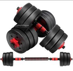 Biceps à barre