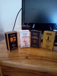 Échantillons de parfum