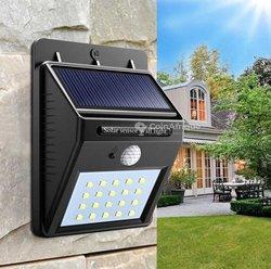 Lampe solaire détecteur de mouvement