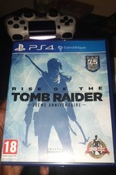 CD Playstation 4 Rise of the tomb raider