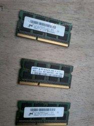 Barrettes ram DDR3