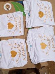 Impression sur t-shirts et tasses