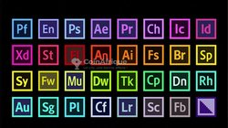 Pack logiciels Adobe - photoshop - illustrator - premier pro
