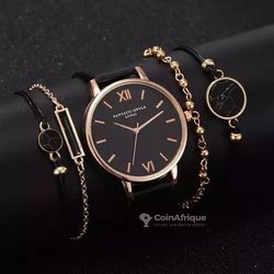 Montre femme  avec  bracelets