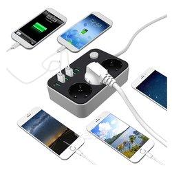 Multiprise charge 6 ports USB - 5v 3.4a