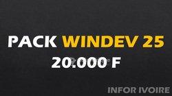Installation pack Windev V25