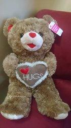 Peluche ours Love Hugs
