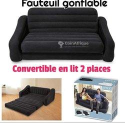 Canapé-lit gonflable