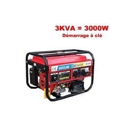 Groupes électrogènes 3.8 kva
