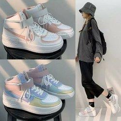Chaussures Air force montante  pour femme