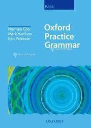 Documents d'anglais - Oxford practice Grammar Basic avec support CD