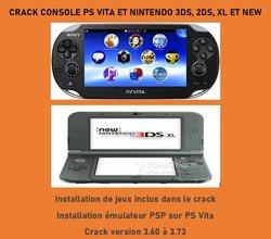 Crack console psvita - nintendo 3ds