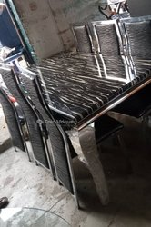 Table marbre - 6 chaises