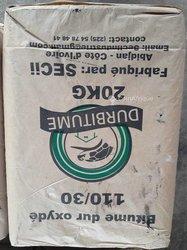 Ciment bitume dur oxyde