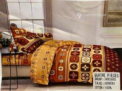 Draps de lit et matelas