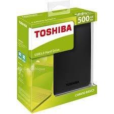 Disque dur externe Toshiba 500 Go