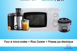Micro ondes + rice cooker