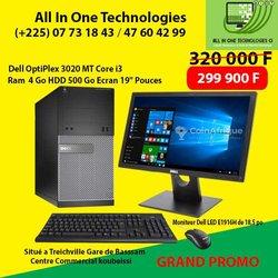 Dell Optiplex 3020 MT core i3