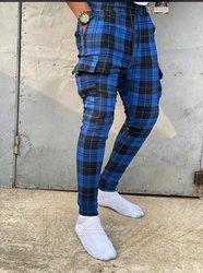 Pantalon carreaux écossais