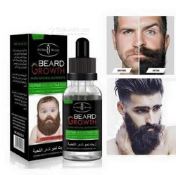 Huile pousse barbe