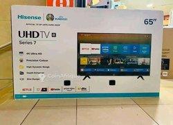 Télévisions authentiques neuf en carton avec décodeur intégré