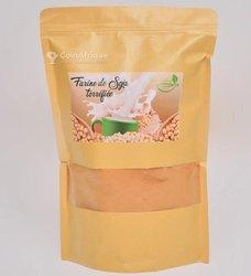 Farine de soja torréfiée