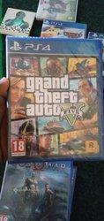 CD jeux PS4 scellé