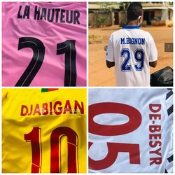 Impressions  maillots