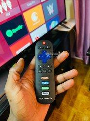 TV 65 Pouces TCL 4K UHD Roku TV Smart