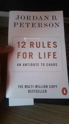 Livre 12 Rules For Life par Jordon Peterson